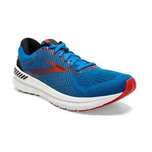 BROOKS-TRANSCEND-7-Scarpe-Running-Uomo-Cushion-Support-MAZARINE-RED-110331-481