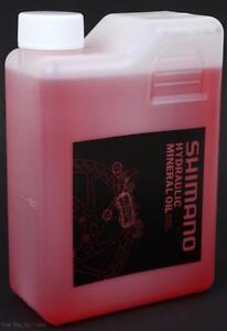 Genuine Shimano Hydraulic Bike Brake Mineral Oil Fluid 1000ml (1-Liter) Bottle