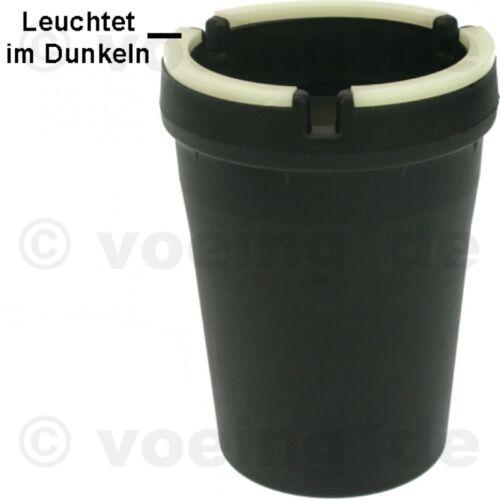 "1x Metall-Aschenbecher Trend-Sturmaschenbecher /""EMOJI/"" Ø ca 7,6 cm H 10,5 cm"