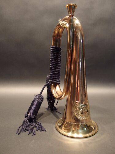 Antique Style US Military CSA Confederate Civil War Brass Bugle Horn