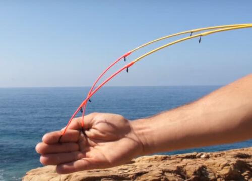 Trabucco Bay Reef Noir Brème PLIE tige 2.7 MT 100 g 6 lb (environ 2.72 kg) 2 STS incassable Embout