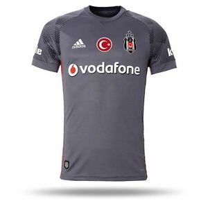 Besiktas Jersey BJK 2017 2018 Season Gray Match third KK Jersey ... 43caa33df