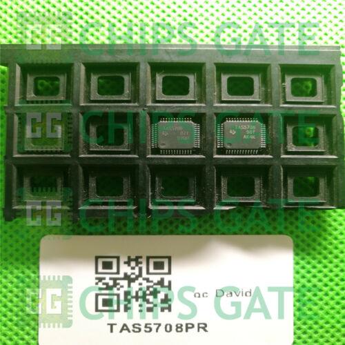 1PCS TAS5708PR IC AMP AUDIO PWR 20.2W D 48TQFP 5708 TAS5708