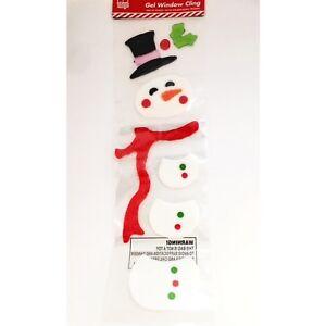 GRANDE-Finestra-Di-Natale-Adesivi-GEL-Pupazzo-di-neve-Decorazioni-di-Natale-si-aggrappa-a-lungo