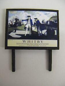 N /& OO Gauge LNER Whitby Model Railway Billboard