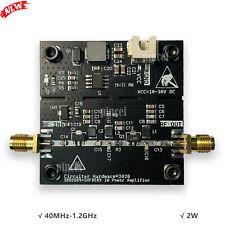 Microwave Power Amplifier Rf Power Amplifier Board 40mhz 12ghz 2w Gain 25db