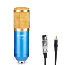 Neewer NW-800 Professional Condenser Microphone+Anti-wind Foam Cap+Cable (Blue)