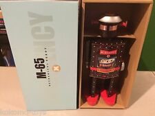 2014 St. John Toys Giant M-65 Robot STJ007 Man Windup Tin Toy Space MIB