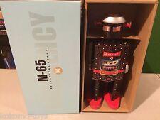 2014 St. John Toys Giant M-65 Robot STJ007 Man Windup Tin Toy Space MIB
