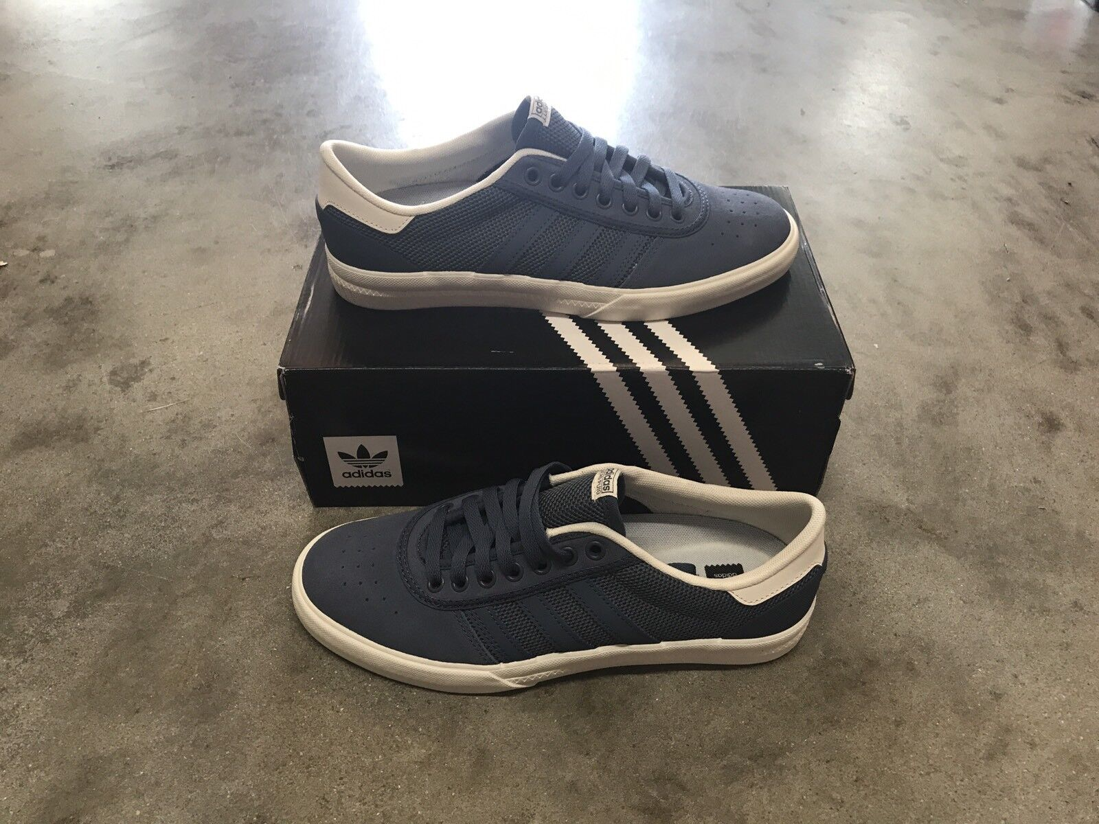 Adidas Lucas Premiere (Tecink/Tecink/Cwhite) Mens Skateboarding Shoes