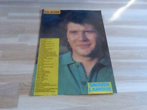 Daniel-Balavoine-Mini-Poster-Testo-Salvare-L-039-Amour-Top-50