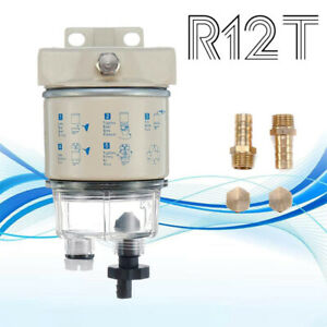 R12T-Boat-Marine-Rotation-Oil-Fuel-Filter-Water-Separator-R12-R12S-R12T-R12P