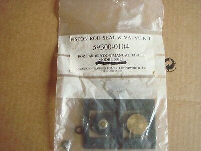 Sporting Goods Trustful Toilet Piston Rod Seal& Valve Kit For Boat 59300-0104 Agreeable Sweetness