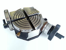 """Amadeal 100mm (4"""") Tilting Rotary Table"""