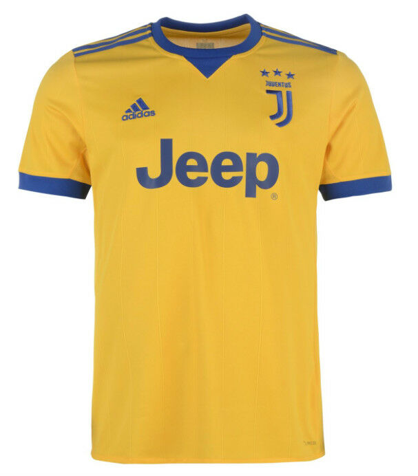 Adidas Juventus Turin Away Away Jersey bluee gold 2017 ALL SIZES NEW