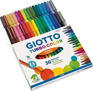 Giotto Turbo Color pennarelli in astuccio da 36 colori