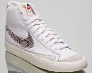 Detalles de Nike Blazer Mid'77 Vintage nos Reptil Piel De Serpiente Swoosh  Para Hombre Blanco Zapatillas- ver título original