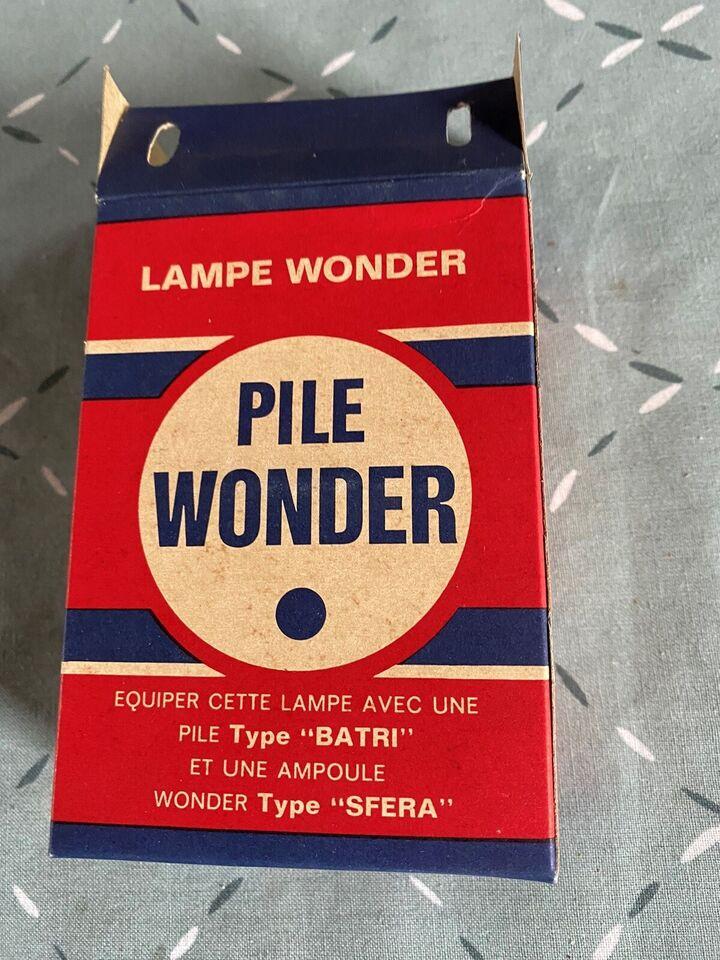 Lommelygter, Wonder cinea