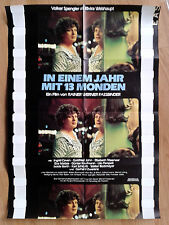 in a Year With 13 Moons (1978) DVD Rainer Werner Fassbinder