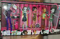Monster High Student Disembody Council 4 Girls & I Boy Slo Mo