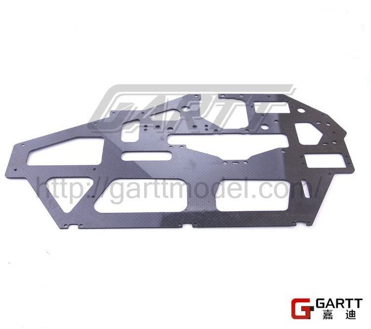 Free shipping GARTT 700 carbon main frame For Align Trex 700 RC Helicopter