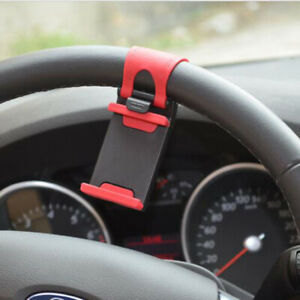 Car-steering-wheel-cell-phone-stand-Phone-Clip-Mount-Holder