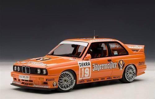 1 18 - Autoart BMW m3 DTM 1992  Jägermeister  Hahne  19