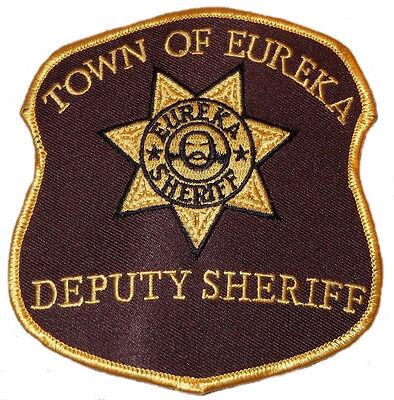 Eureka TV Series Astraeus Project Cosplay Shoulder Patch