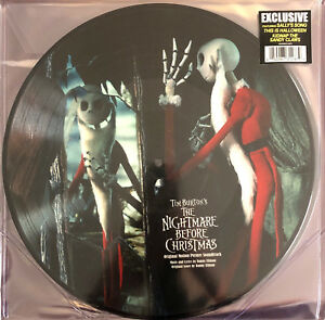 Danny-Elfman-2xLP-The-Nightmare-Before-Christmas-Limited-Edition-Picture-Disc