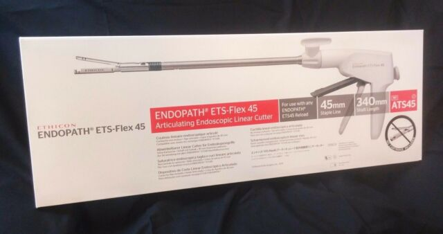 ECHELON ETS Flex 45 Endoscopic Cutter Endopath Stapler expire 2021 - $399 Retail