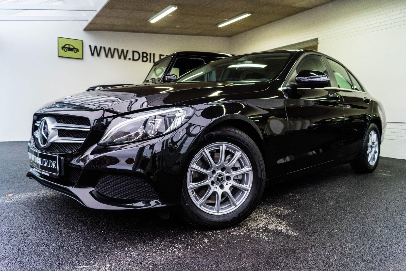 Mercedes C220 d 2,2 Business aut. 4d - 369.000 kr.