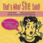 LOL: That's What She Said! by Sellers Publishing, Incorporated (Paperback, 2013)