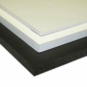 A4-A3-A2-A1-Size-5mm-White-Black-Foam-Board-Pack-of-1-50-CFC-amp-ACID-FREE-NEW
