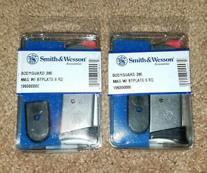 2-PACK-Smith-and-Wesson-Bodyguard-380-ACP-380-Magazine-6-Round-19930