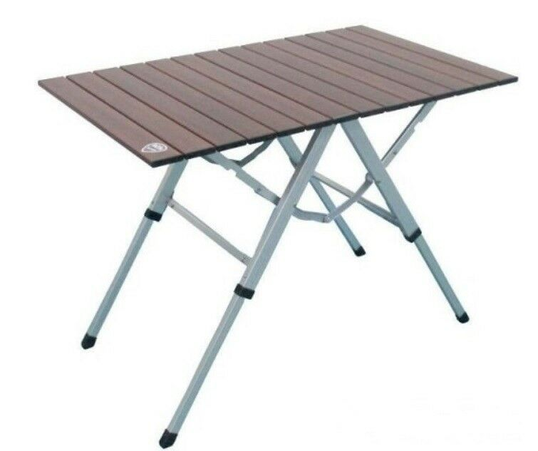 Camingtisch Tisch Klapptisch Falttisch Gartentisch Holzdekor Holzdekor Gartentisch Alu 81x40 cm neu 0ba7a8