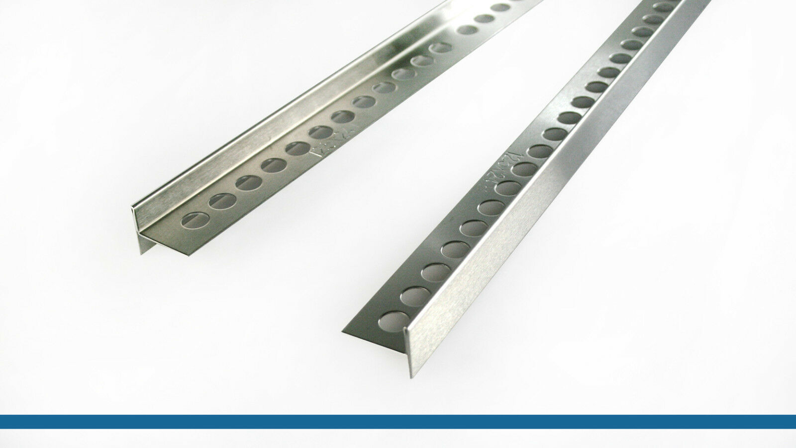 Fuchs Design V2A Gefälleprofil Aqua Keil für begehbare Dusche 12,5x24 mm x 100cm