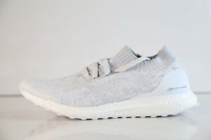 cf877f2c7c12 Image is loading Adidas-UltraBoost-Uncaged-White-Grey-BY2549-8-13-