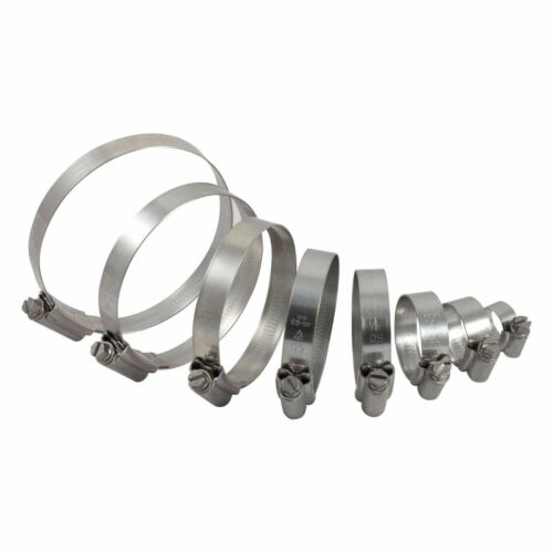 Jubilee Type all sizes. Stainless Steel Pipe Clamps//Hose Clips