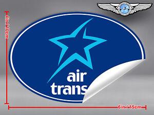 AIR-TRANSAT-OVAL-LOGO-STICKER-DECAL