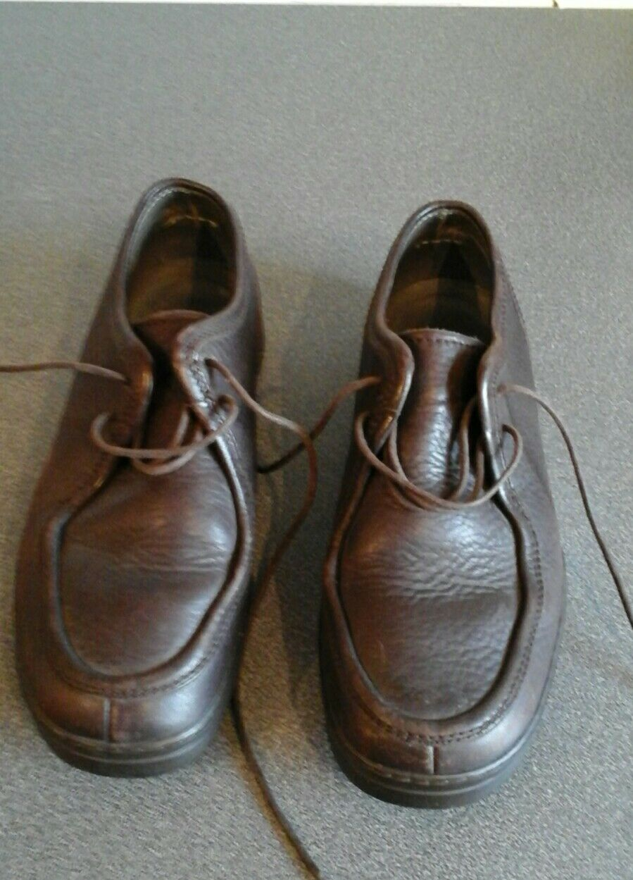 Paul Smith used, brown leather lace ups, surface wear & scratches shown, size 40
