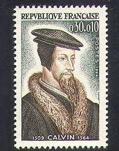 France-1964-Calvin-People-Religion-Religious-Reformer-History-1v-n36929