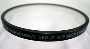 Tiffen Series 9 Black Diffusion FX 5 Round Filter