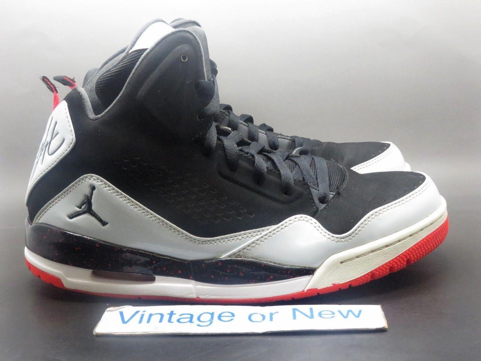 Nike Air Jordan SC-3 Black Pure Platinum Anthracite 2014 sz 10