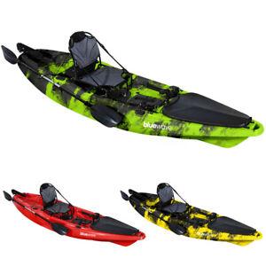 Bluewave Hunter Sit On Top FISHING KayakStable Touring Kayaks Rudder Steering
