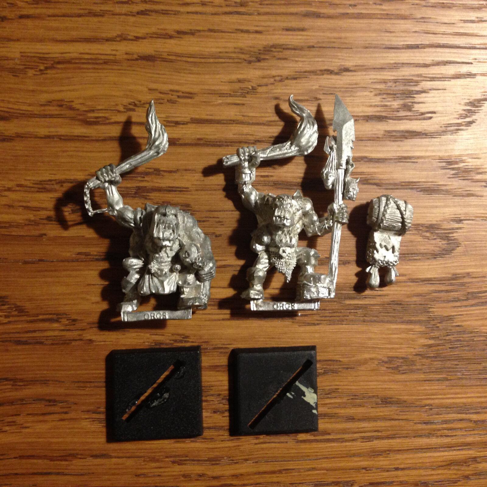 Warhammer orc raiders very rare mordheim oop