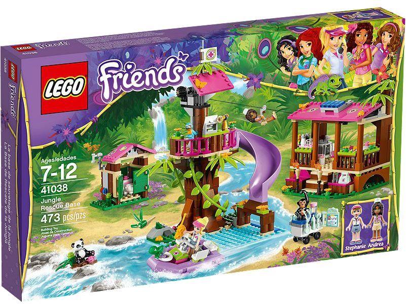 LEGO® Friends 41038 Jungle Rescue Base NEU OVP NEW MISB NRFB