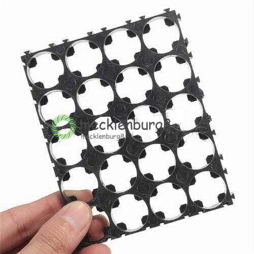 4x5 Cell 18650 Batteries Spacer Radiating Shell Plastic Heat Holder Bracket
