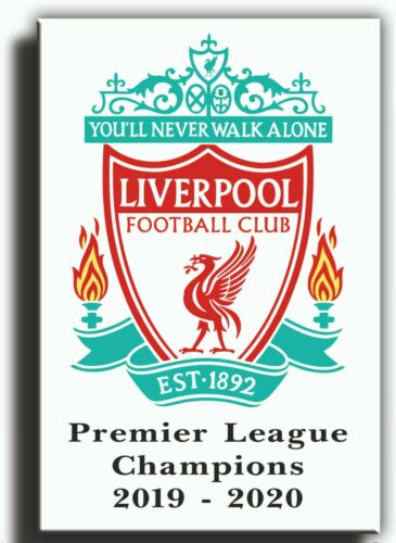 liverpool league winners canvas