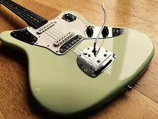 FENDER JAGUAR CIJ 'SEAFOAM GREEN' CUSTOM COLOUR w/ MATCHING HEADSTOCK JAPAN
