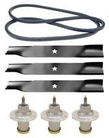 Husqvarna Yt48xls 48 Fabricated Mower Deck Rebuild Kit Belt Spindles Blades